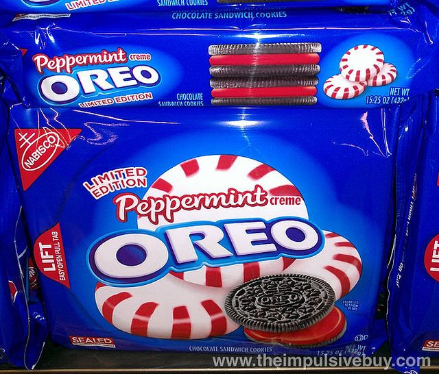 Limited Edition Peppermint Oreo by theimpulsivebuy, via Flickr