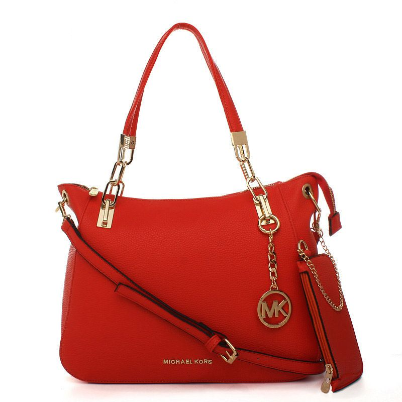 a31f09e16921 ... where to buy michael kors cynthia logo large red satchels a7ff0 54792  netherlands michael kors new leather red medium satchel ...