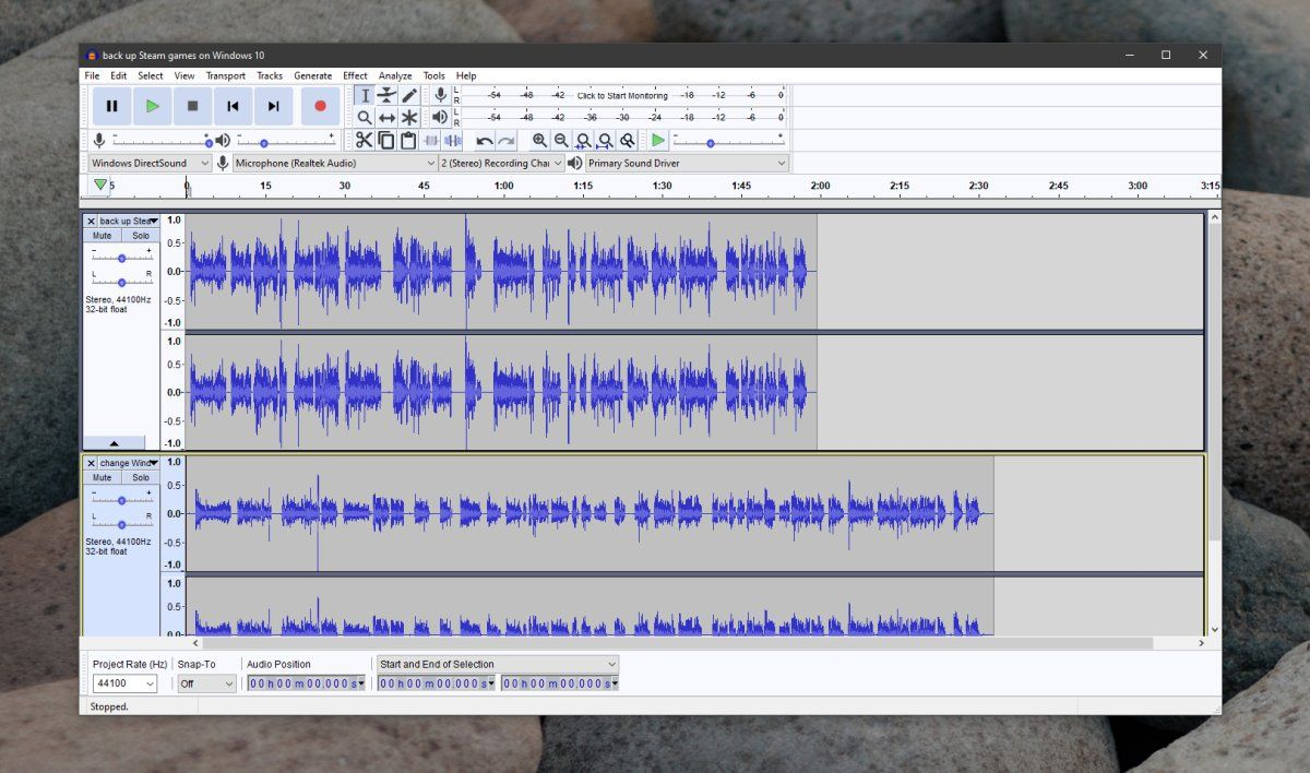 How to merge multiple audio files into one on windows 10