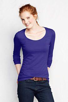 cf5585e0 Women's Polo Shirts, T-Shirts & Knit Tops | Lands' End | Fall ...