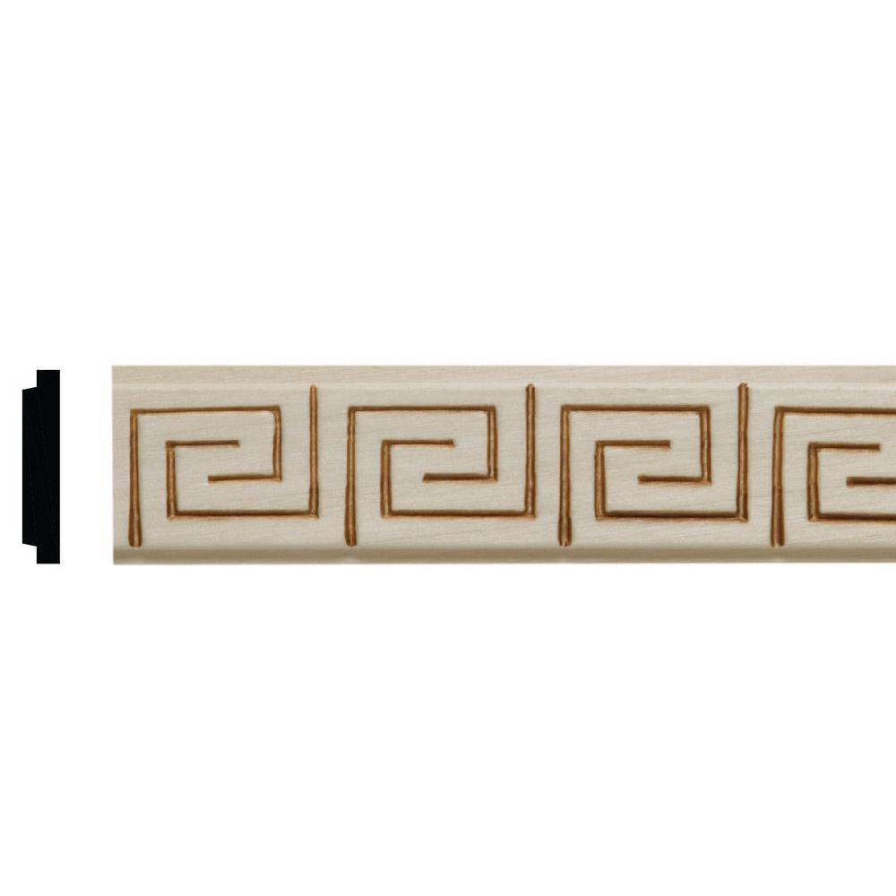 Ekena Millwork 5 in. x 3/4 in. x 5 in. Unfinished Wood