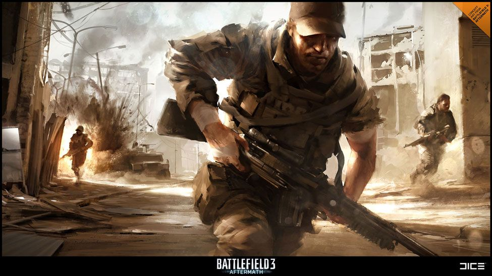Battlefield 3 Aftermath Concept Art Battlefield 3 Battlefield