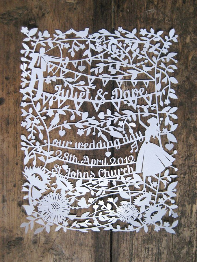 paper cut wedding invitations uk%0A A blog about paper cutting  inspired by the New Forest  Hampshire UK  Hand