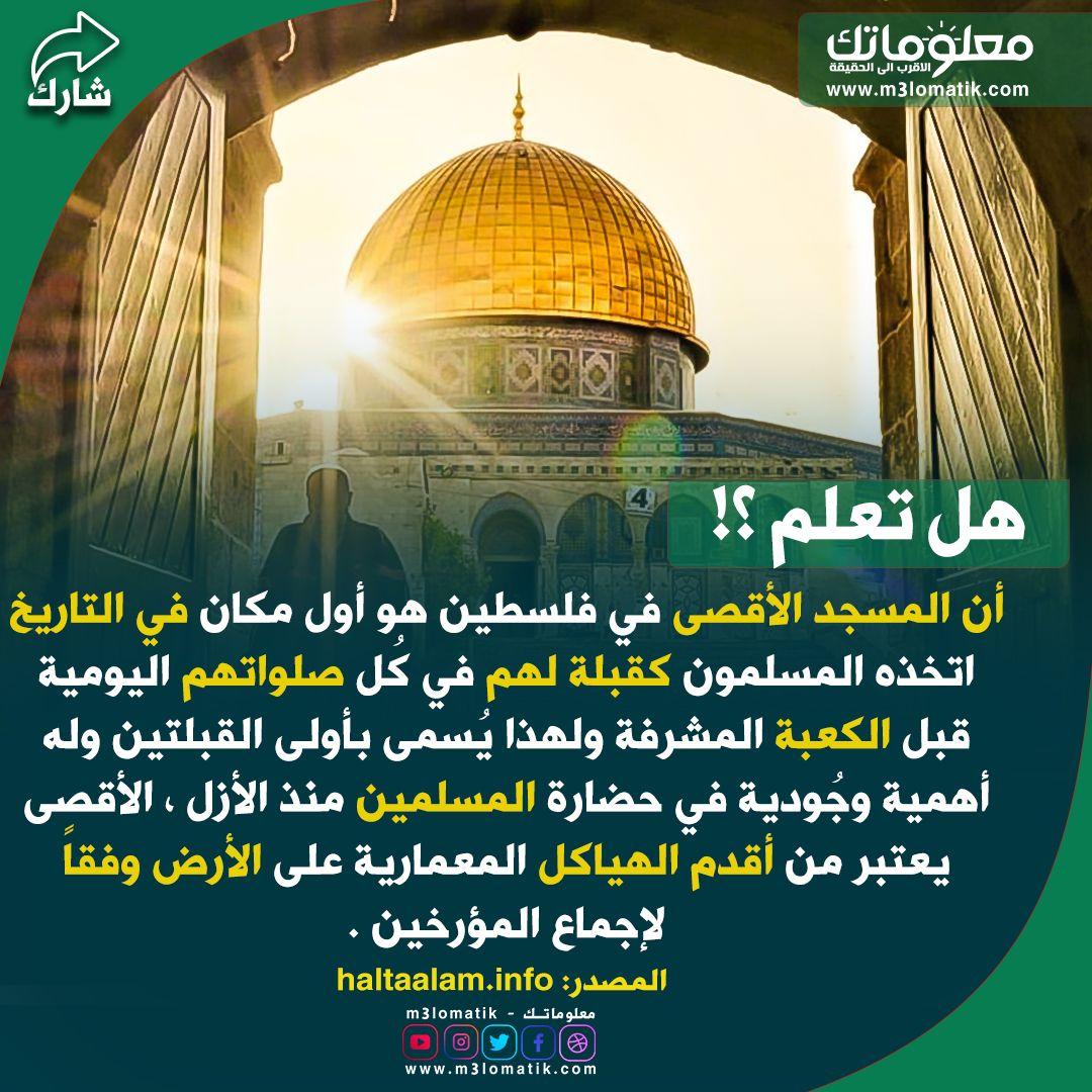 Pin By معلوماتك M3lomatik On هل تعلم Jerusalem Palestine Taj Mahal