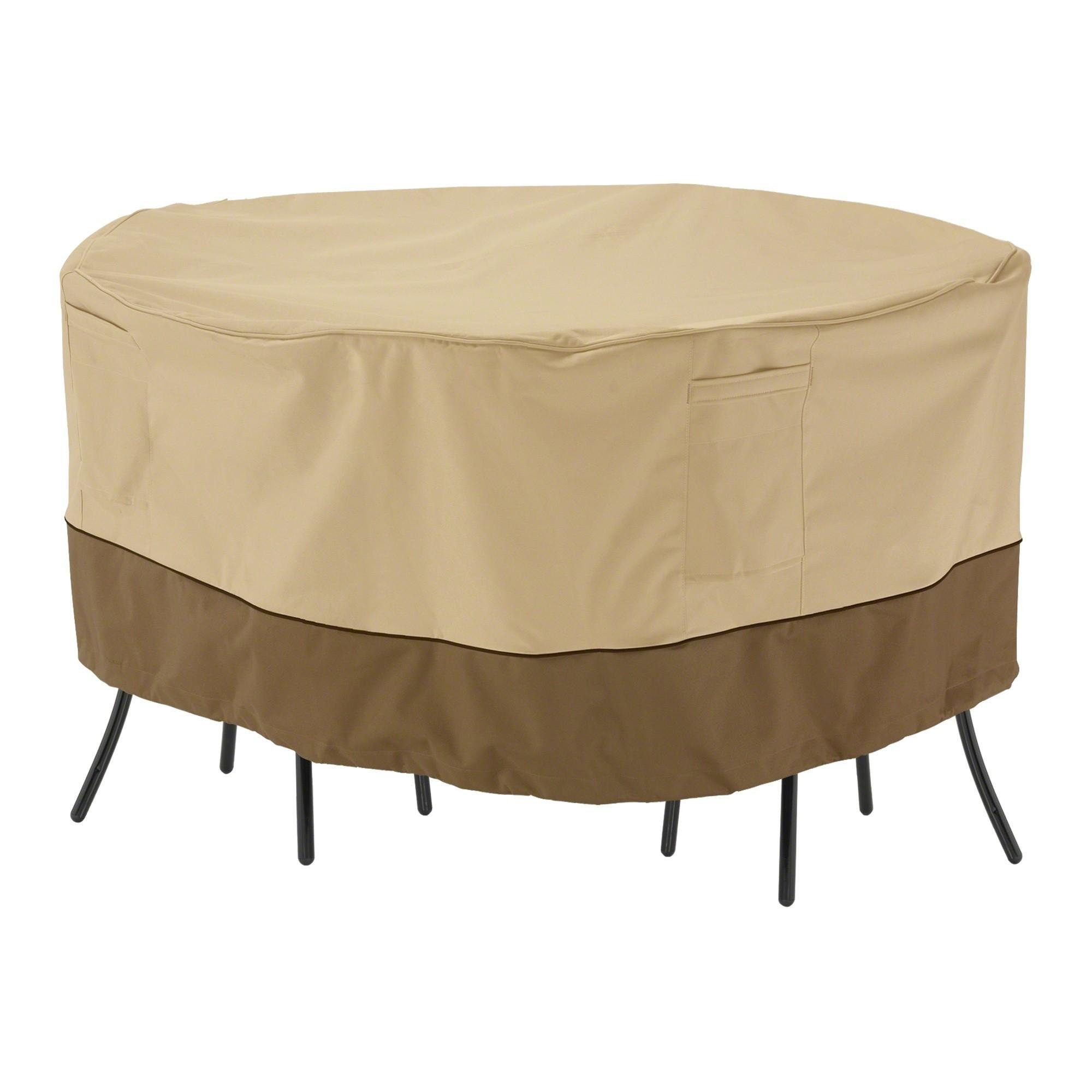 veranda patio bistro round table and chair cover 52 dia x 23 rh pinterest com