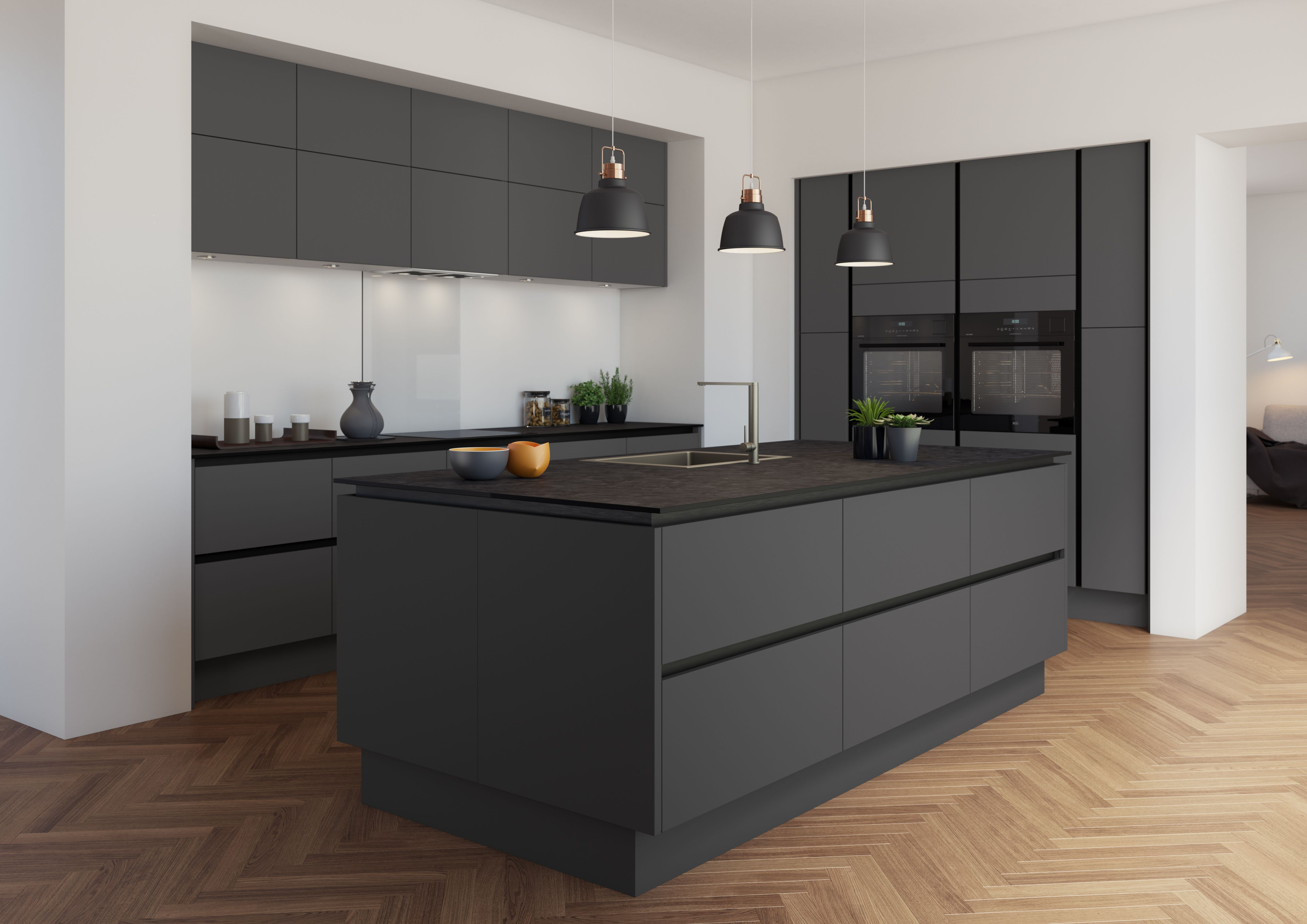 Our fifth and final ice cream flavour is Charcoal, inspired by our Charcoal Magnet Create kitchen shade. 🙌 With hints of charcoal, you'll enjoy every delicious smokey mouthful.  IceCream  MagnetCreate  CreateRange  KitchenRange  KitchenIdeas  KitchenInspo  DreamKitchen  QualityKitchen  Design  InteriorDesign  KitchenShade  Kitchen