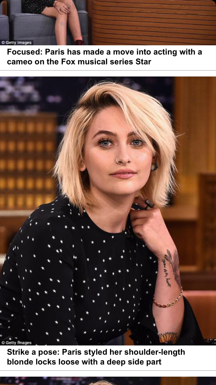 I Repeat Paris Jackson Is Stunning Fashionstyletexturecolour