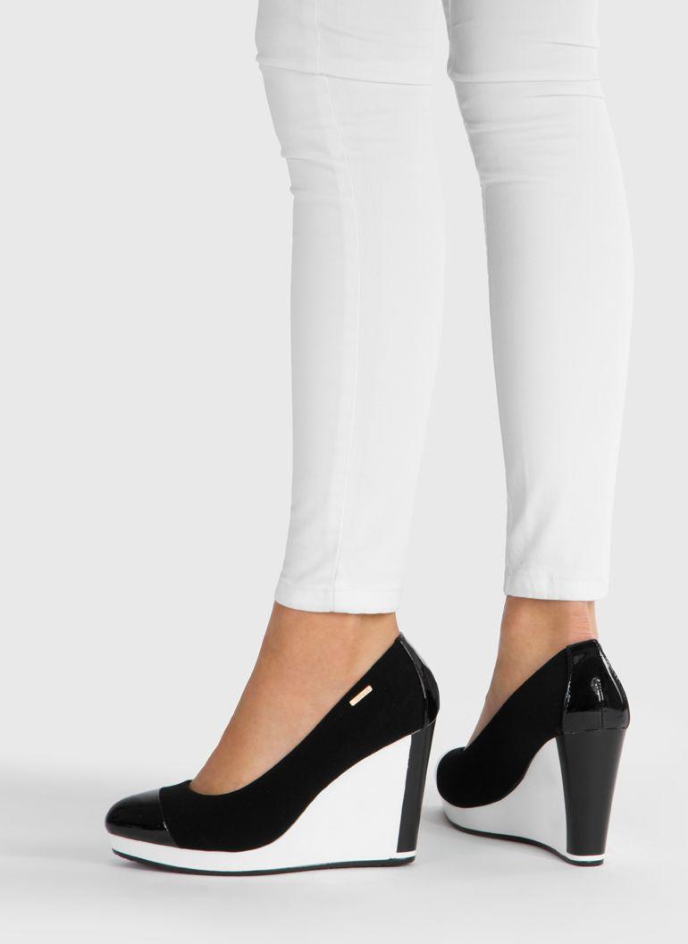 Deezee Pl Heeled Mules Shoes Mule Shoe