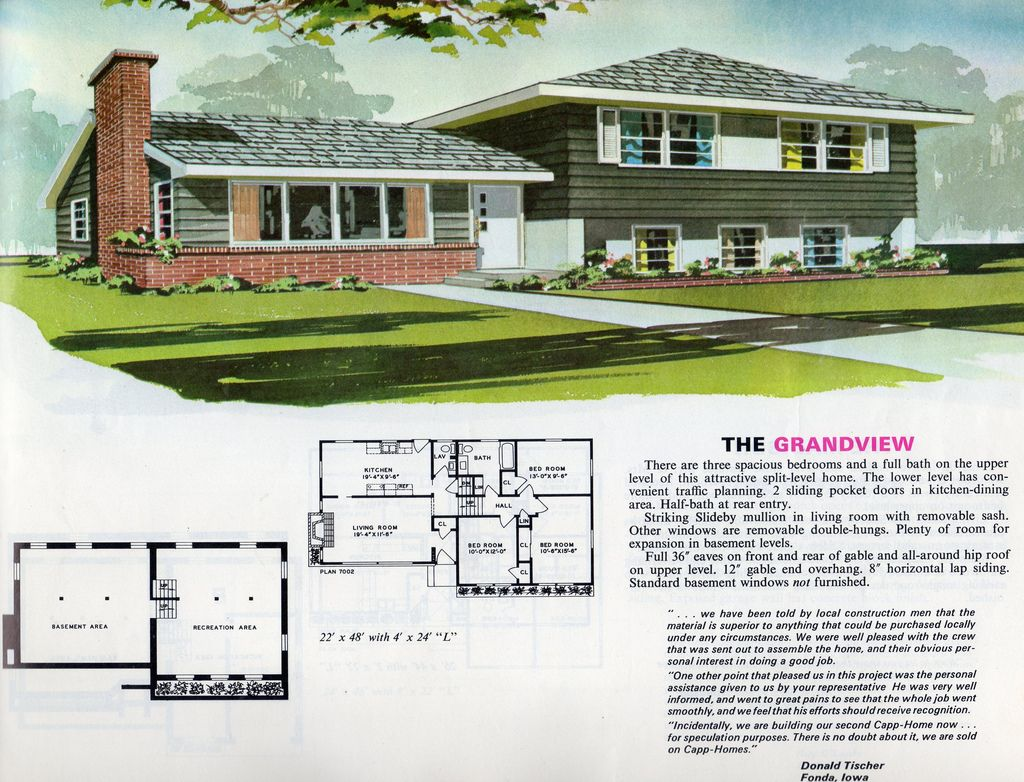 1970 Craftsman Style House Plans House Plans With Pictures Craftsman House Plans