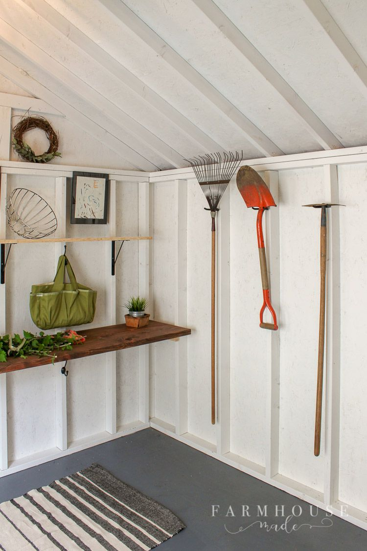 bright and light she shed makeover shed makeover ideas shed rh pinterest com