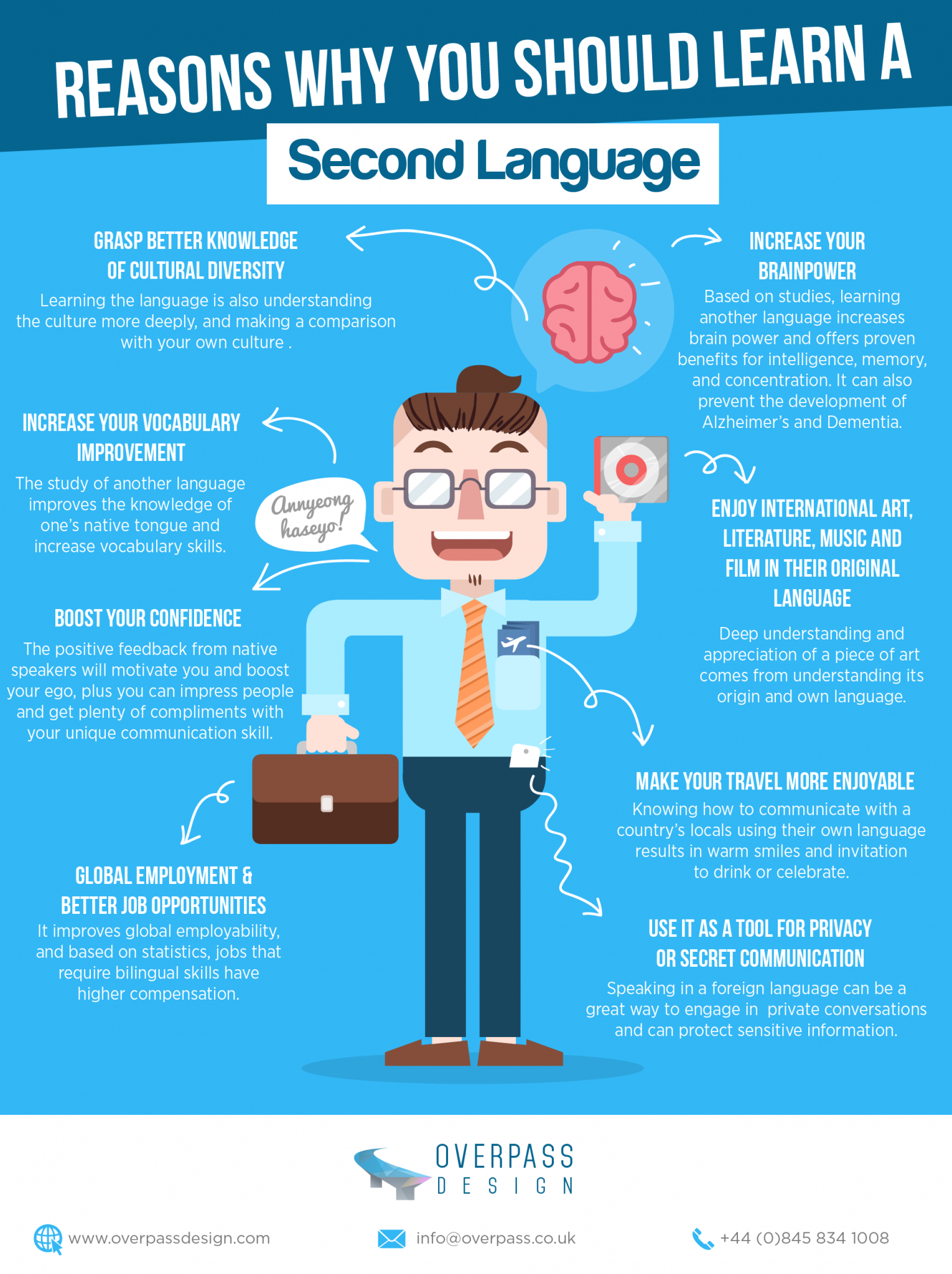 Why You Should Learn A Second Language Infographic E Learning Infographics Learning A Second Language Learn Another Language Educational Infographic