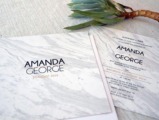 Marvelous Marble Wedding Ideas