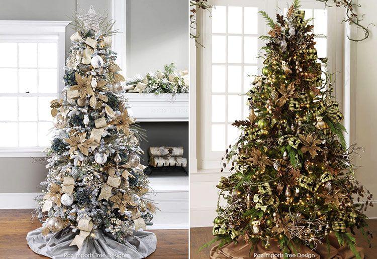 красиво украшенные новогодние елки фото, варианты ...