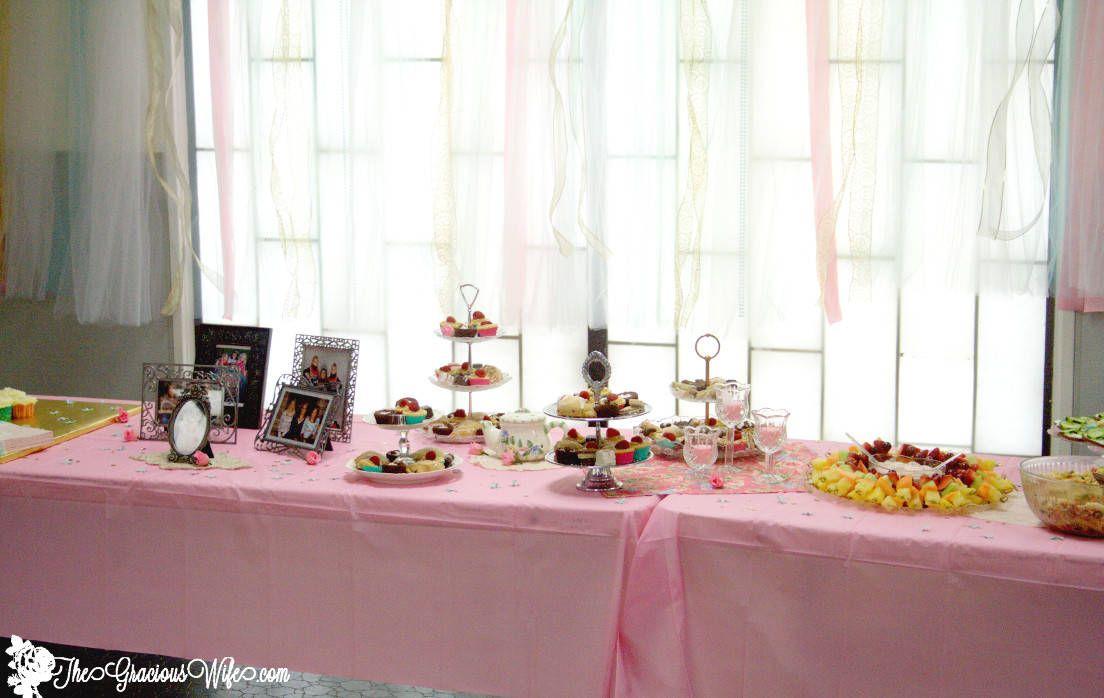 Tea Party Bridal Shower Ideas Tea Party
