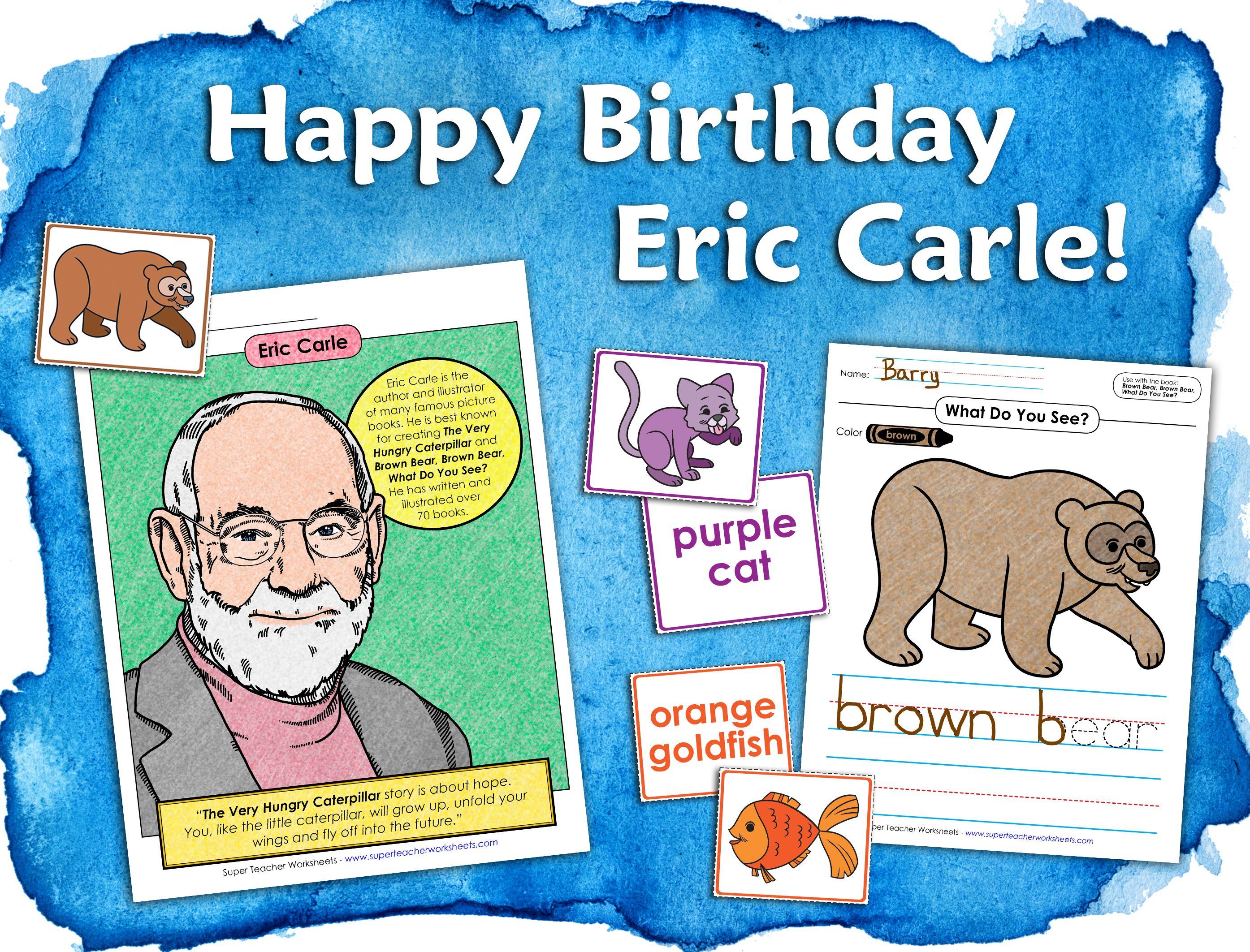 Eric Carle Units In