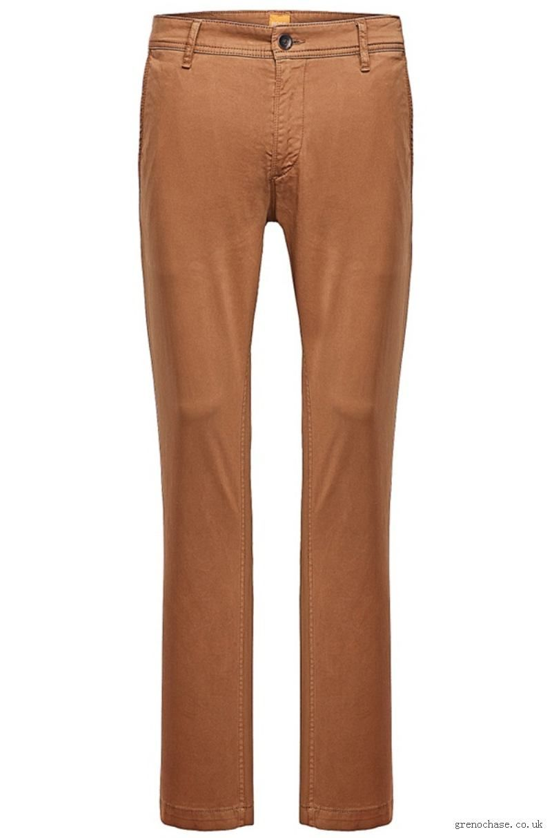 556f108ee138 Fresh spring colors for the men's wardrobe: Boss Casual Chinos BOSS CASUAL  Orange CHINOS boss orange chinos : mens boss orange brown chinos / aphpg4  KWHOHRW