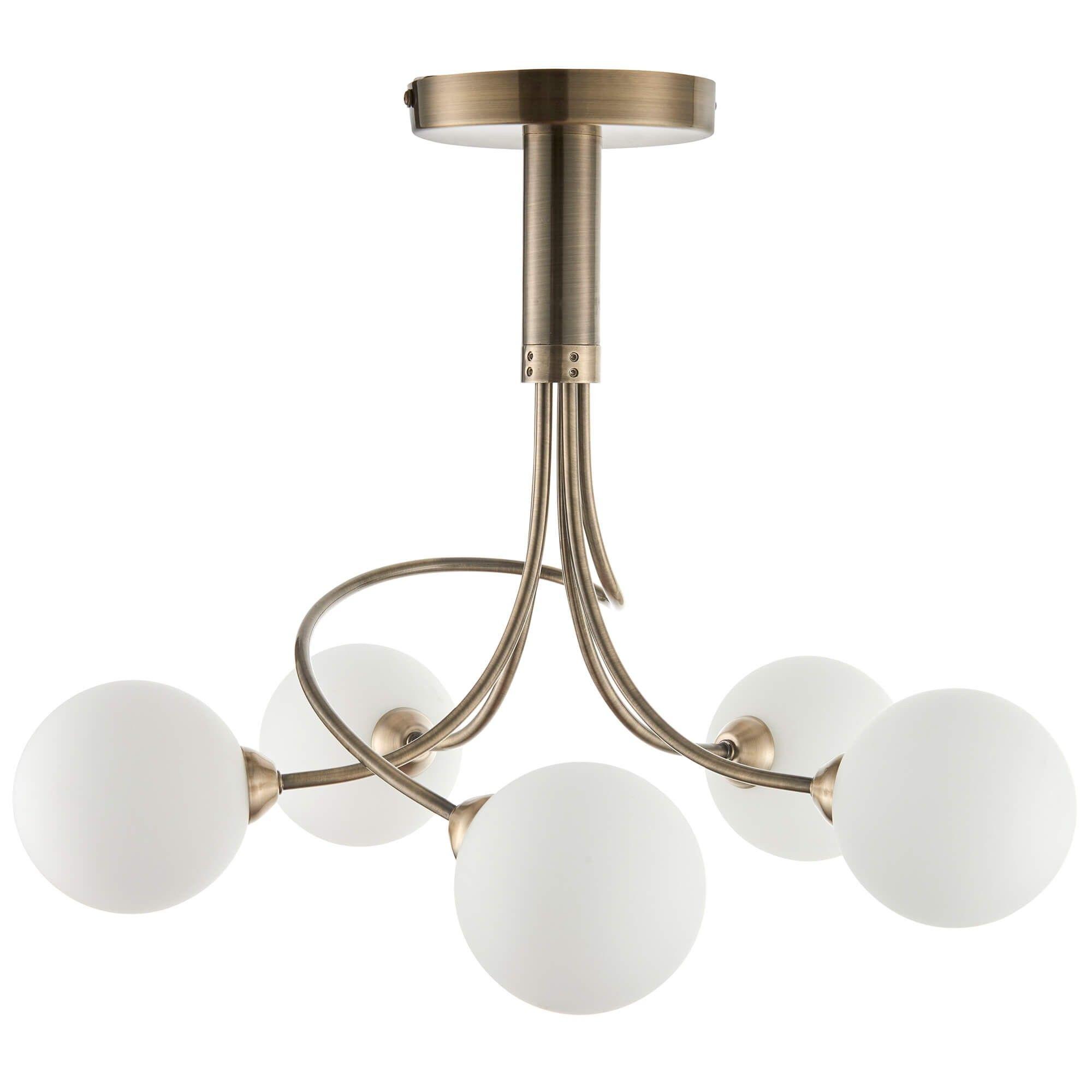 Colville Semi Flush Ceiling Light Ceiling Lights Semi Flush