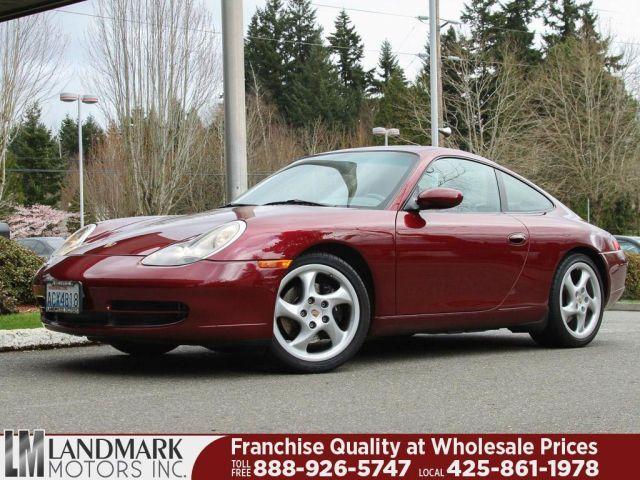 1999 Porsche 911, 49,587 miles, $28,495.