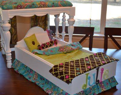 die besten 25 puppenbettw sche ideen auf pinterest. Black Bedroom Furniture Sets. Home Design Ideas