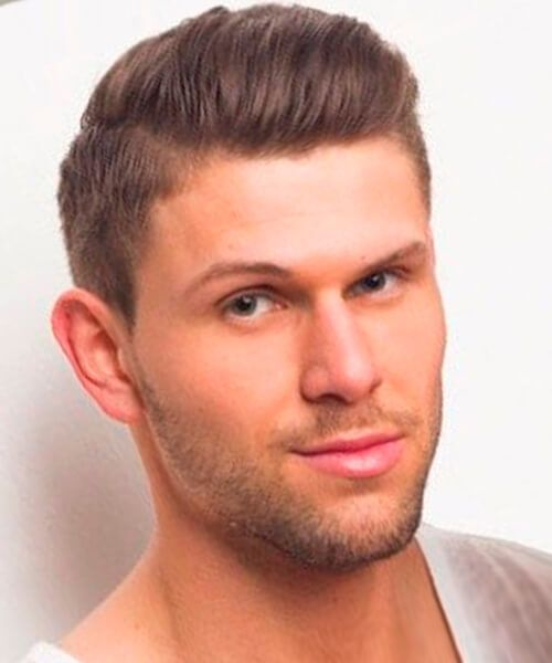 Long on top short hairstyle for men with fine hair | hairstyles ...