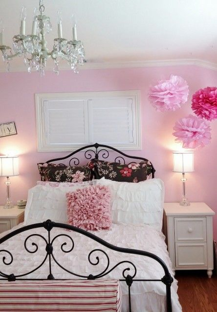brown and pink dream room traditional bedroom san francisco rh pinterest com