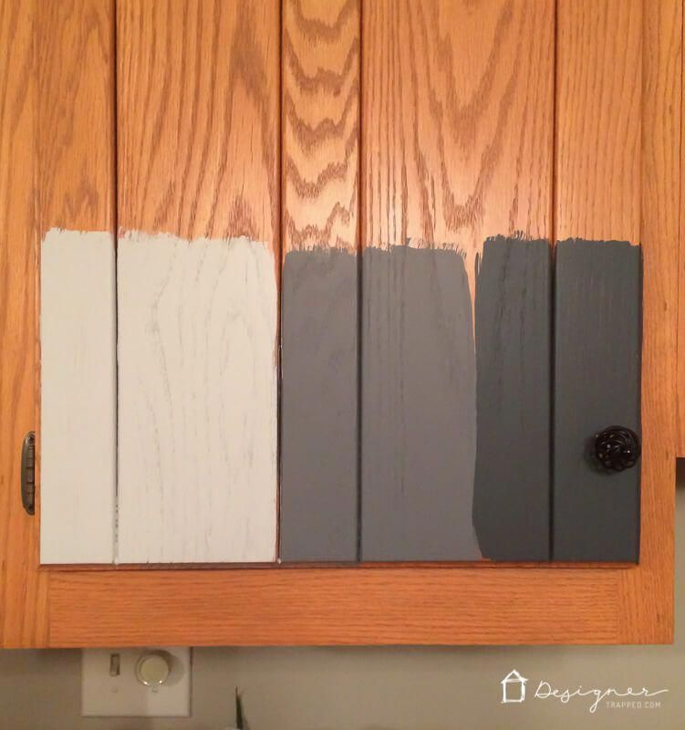 learn how to paint your kitchen cabinets without sanding or priming rh pinterest com