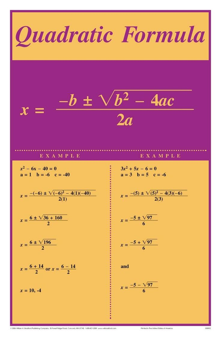 Resolution D Equations Du Deuxieme Degre Learning Math Quadratics Education Math