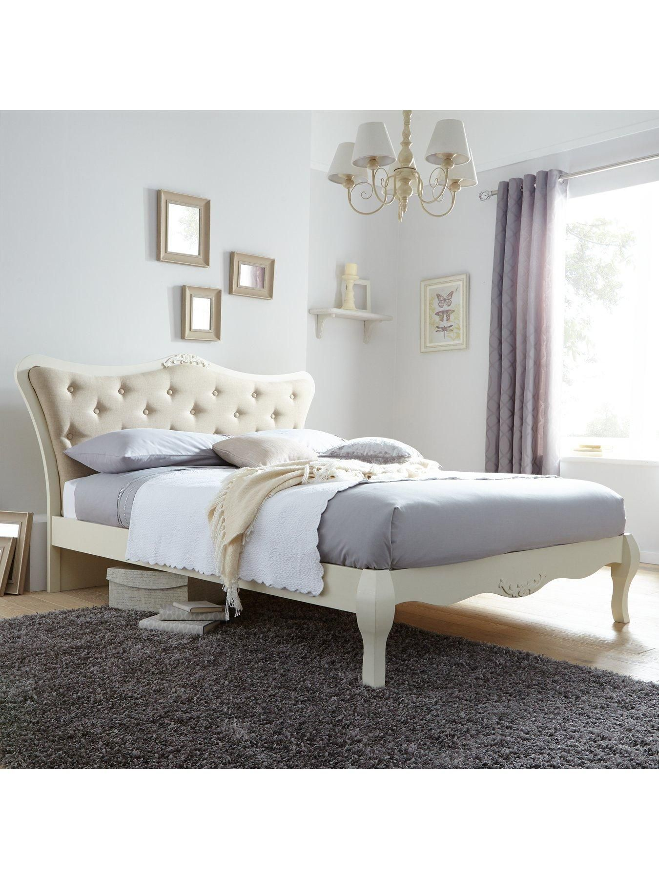 Adelie Double Bed with Optional Mattress | littlewoods.com | Home ...