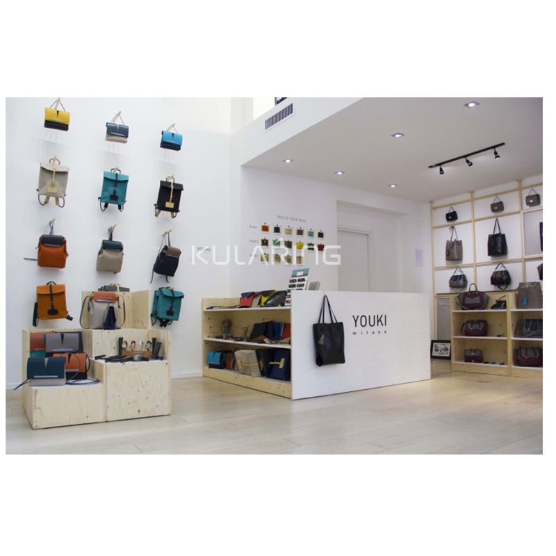 Handbag Display Stand With Bags Shop Interior Design For Bag