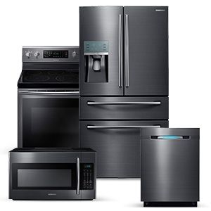 SAMSUNG BLACK STAINLESS KITCHEN PACKAGE | Kitchen | Pinterest ...