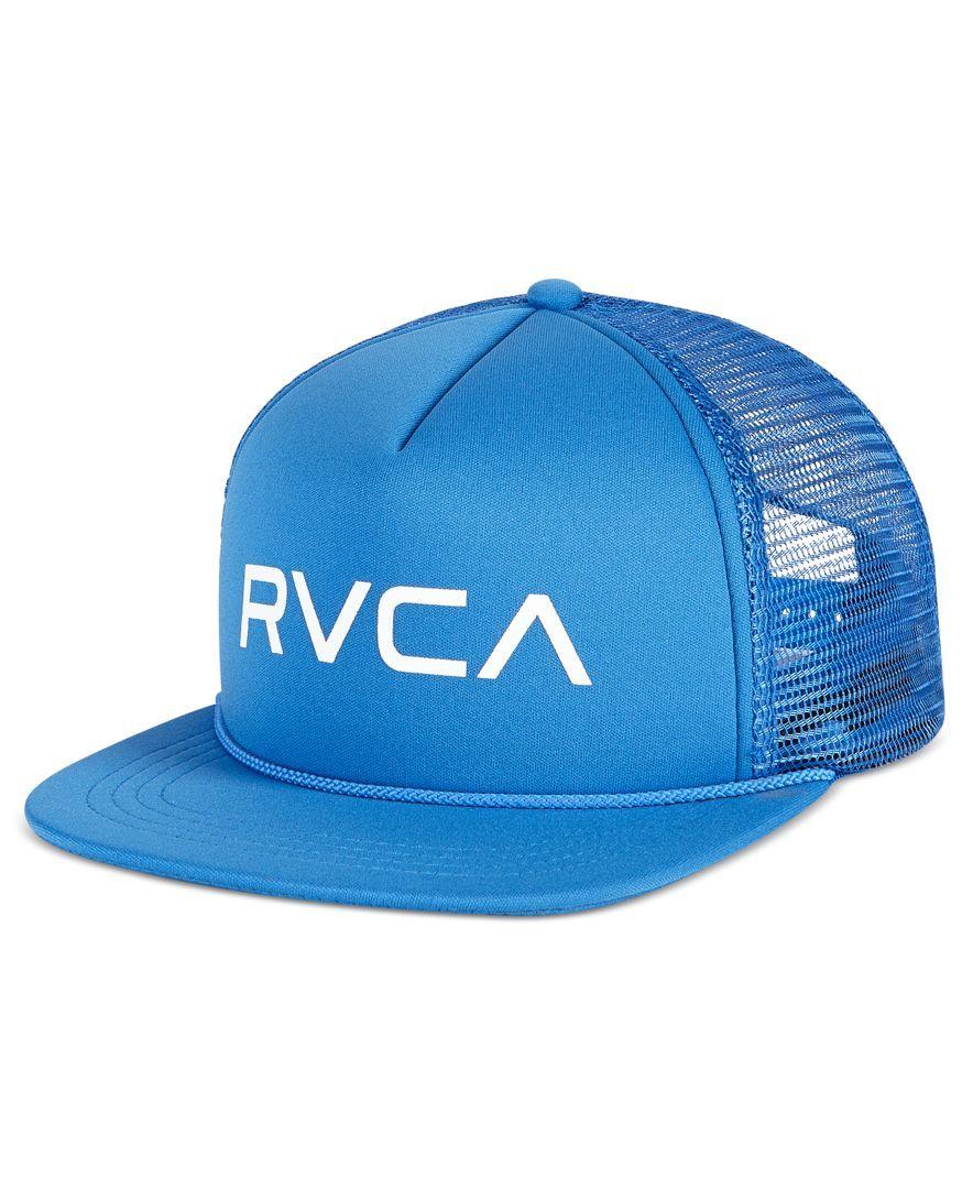 e6aa685f81f28b Rvca Men's Foamy Trucker Cap   Products   Hats, Cap, Men