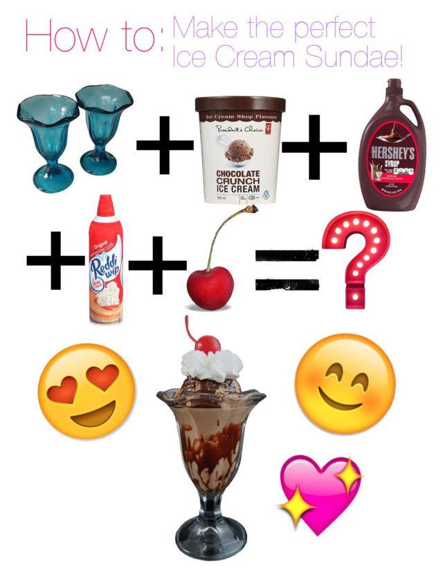 How to make the perfect ice cream sundae!!\