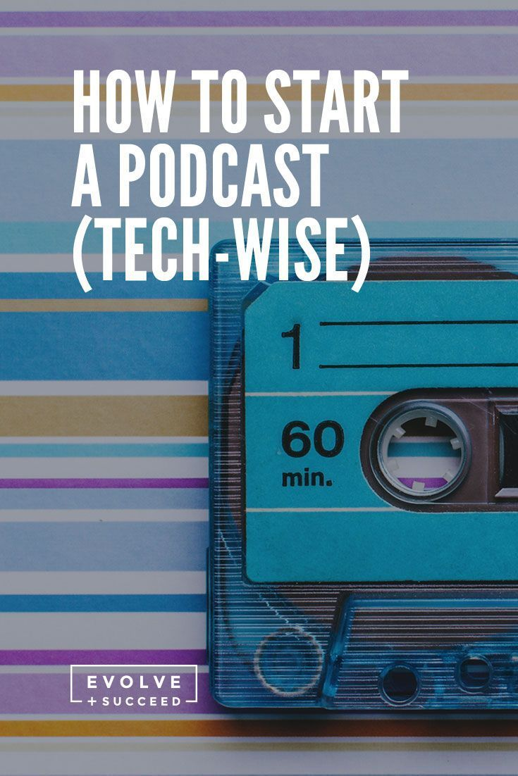 How to start a podcast (tech-wise). Ever thought of starting a podcast? Today, I'm sharing all the tech you'll need.