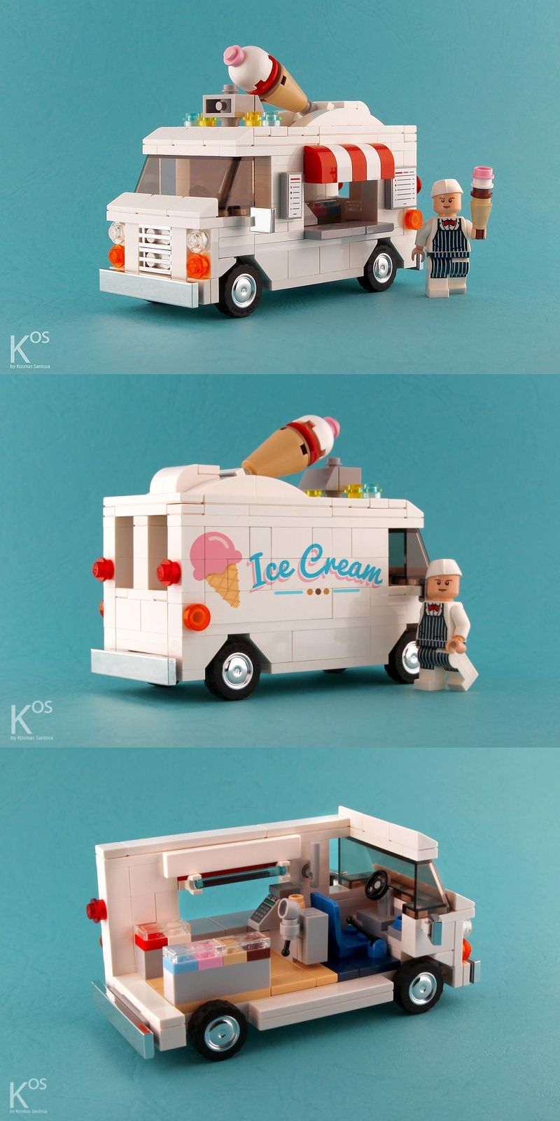 Ice Cream Truck   Want Some    LEGO   Pinterest   Ice cream van     Ice Cream Van   Want Some