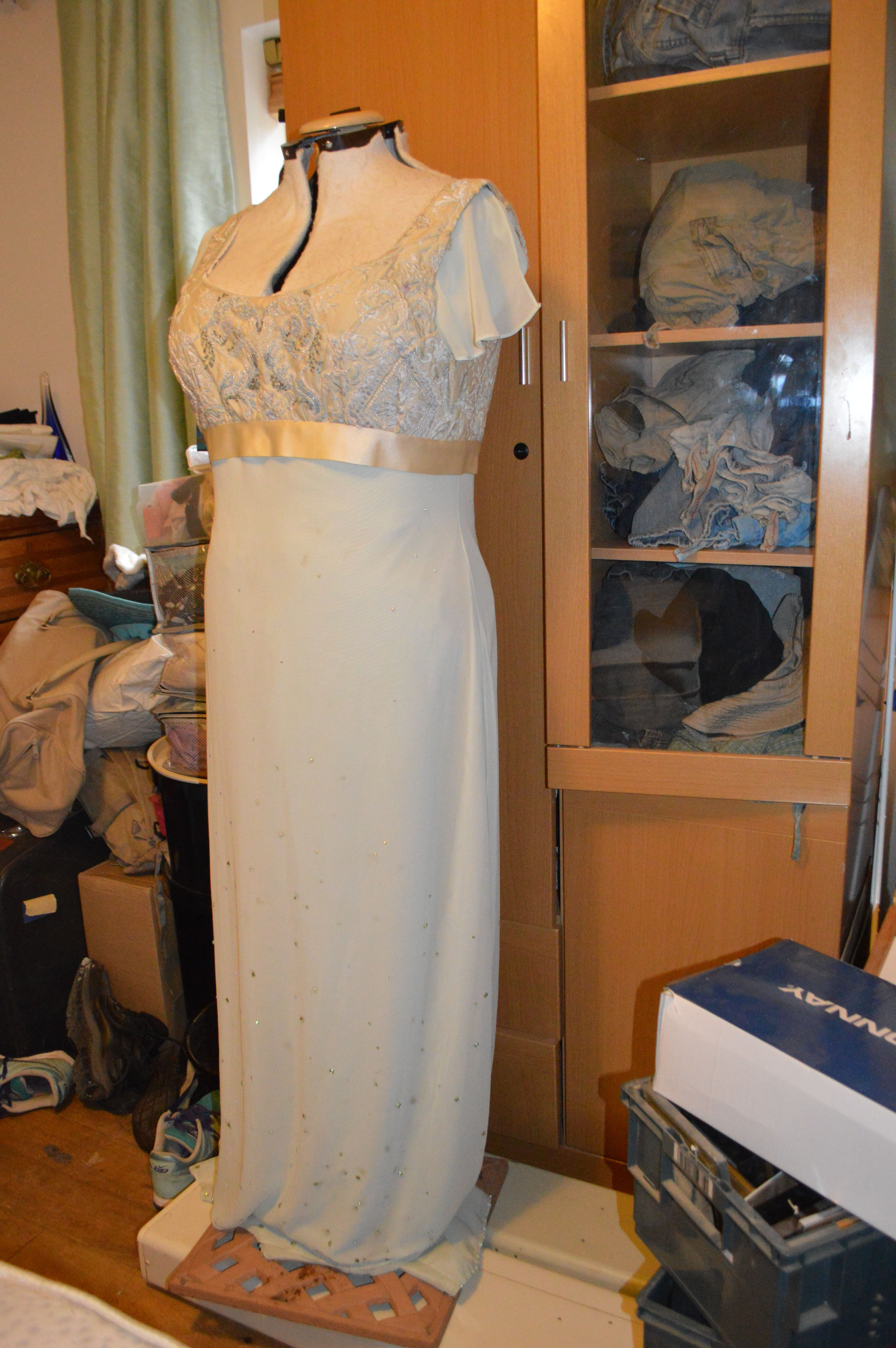 This is my wedding dress a second hand bridesmaid dress which i this is my wedding dress a second hand bridesmaid dress which i hands embroidered and ombrellifo Gallery
