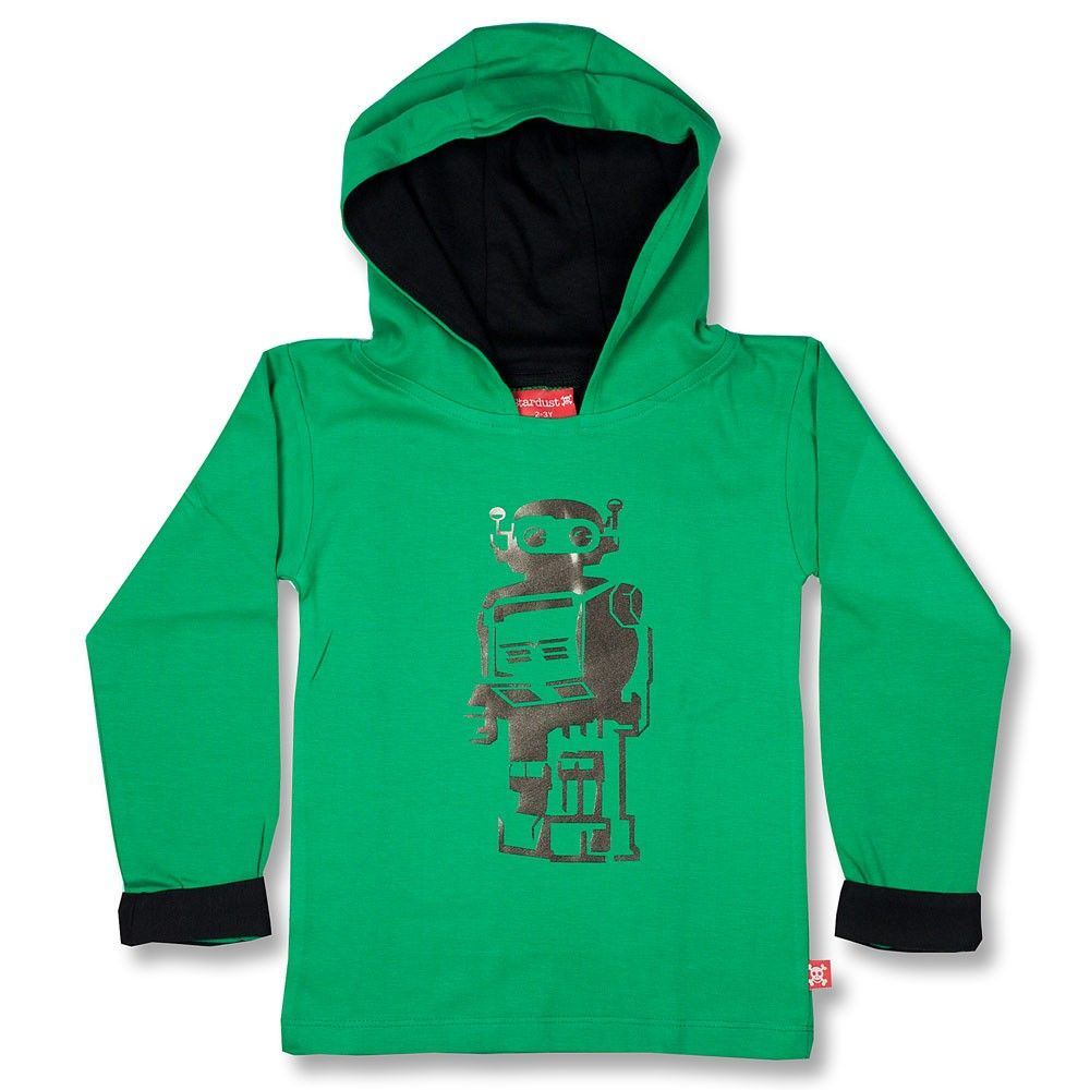 Stardust Robot Hoody - ***Exclusief bij Kids Grocery!***