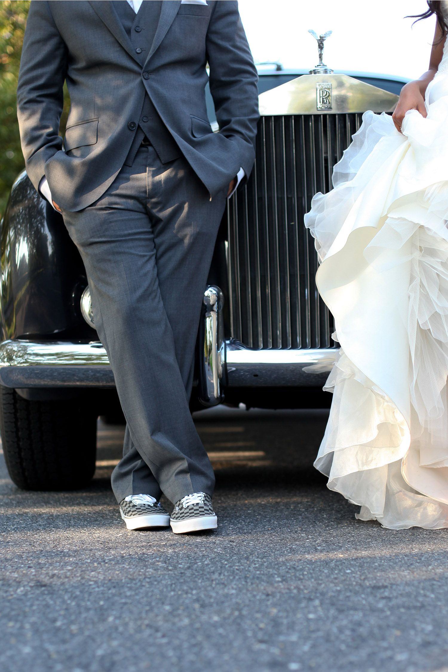 Vans W A Suit Groom Shoes Orthodox Wedding
