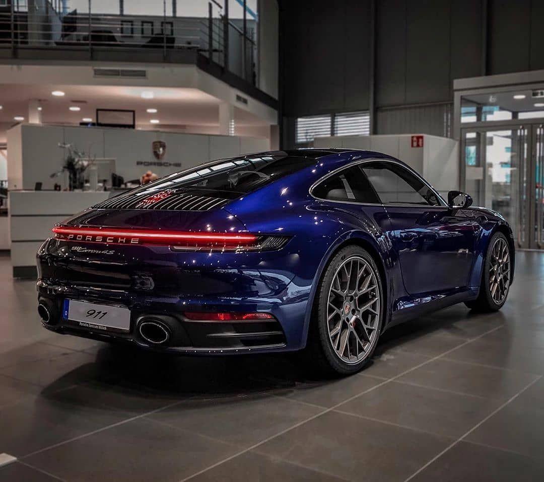"""Porsche 992 Fanpage On Instagram: """"Gentian Blue Porsche"""