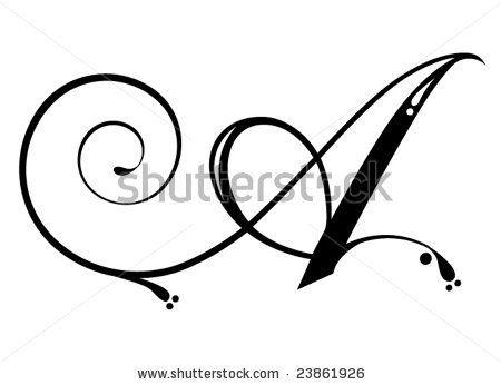 cursive letter a - Google Search | font | Pinterest | Art, Scripts ...