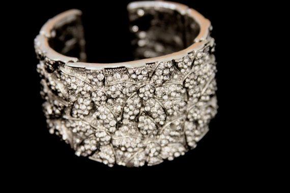 Eleanor Vintage Crystal Bracelet  VB0003 by DreamcatcherStudio, $79.00
