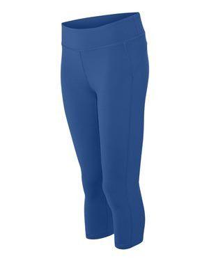 Women's Royal Blue Capri Leggings | Capri leggings, Products and Capri