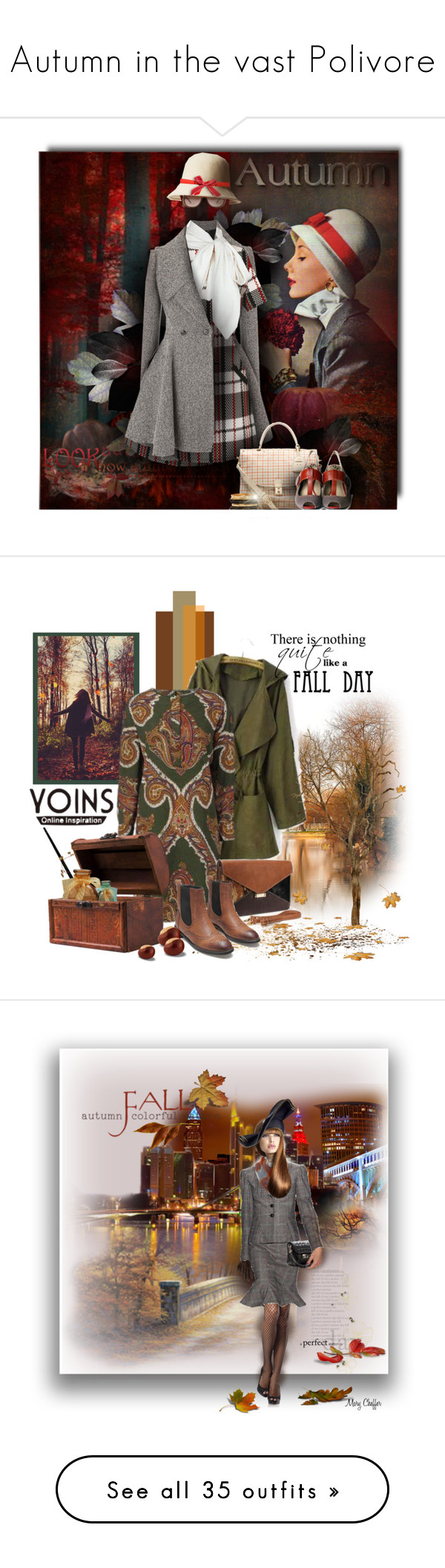 """""""Autumn in the vast Polivore"""" by look-comskaya ❤ liked on Polyvore featuring Lost & Found, Girls On Film, Alexander McQueen, Gucci, Kate Spade, Ralph Lauren, Tory Burch, Pink Studio, tartan and GE"""