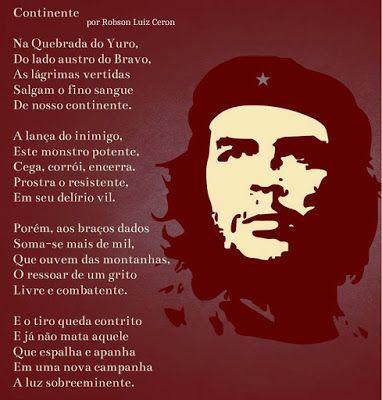 *PLATEIA LITERÁRIA*: Che Guevara * Antonio Cabral filho * RJ