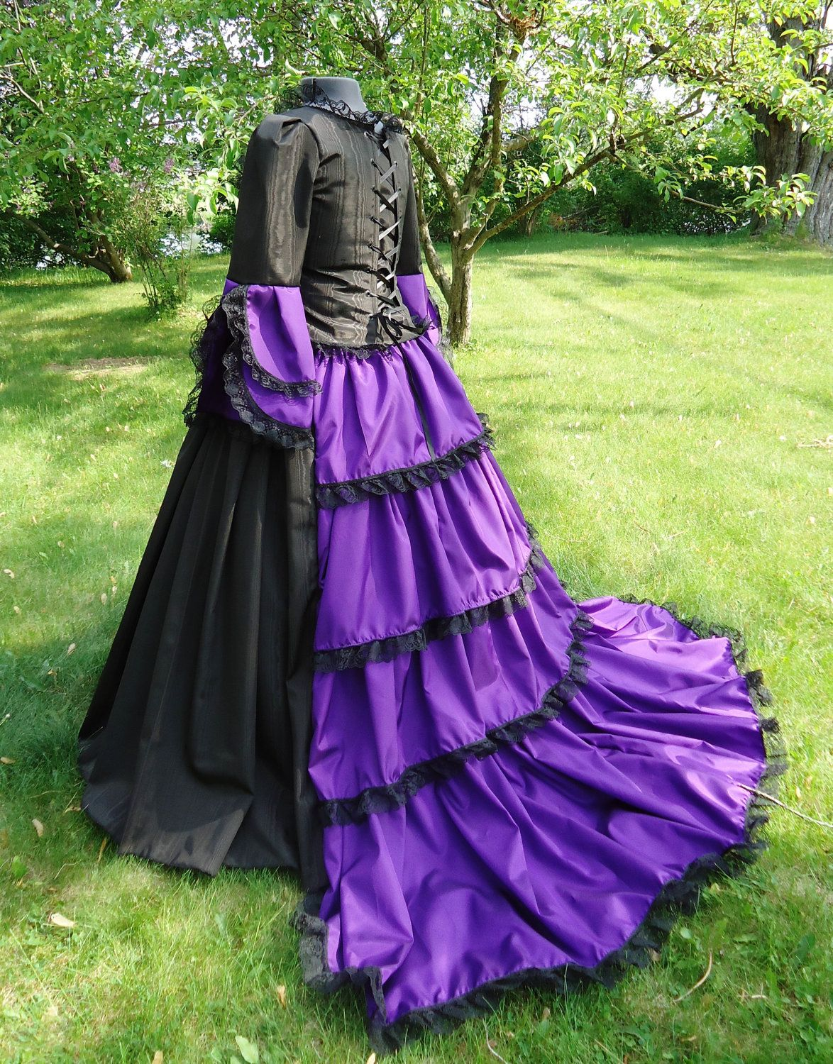 Ready To Ship Victorian Ball Gown Civil War Dress Southern Belle ...