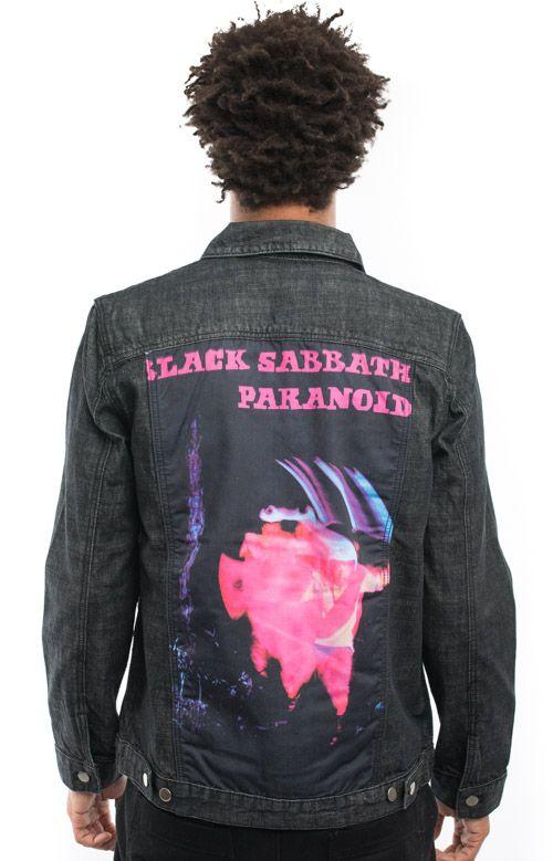 Black Sabbath, Paranoid Denim Jacket - Band Merch - MOOSE Limited ...