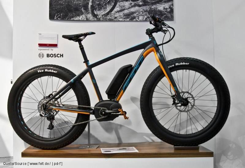 Felt Lebowsk E Erstes Fatbike Mit Bosch Antrieb Pedelec Fahrrad Poster Fahrrad