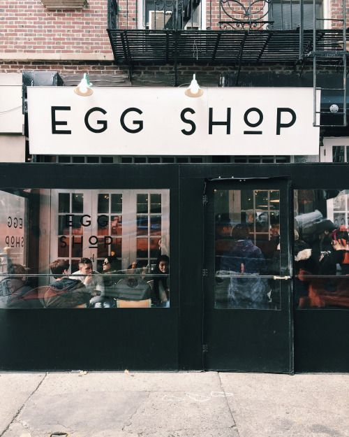 Thank you @readcereal! Eggshop was amazing! New York. Fall 2016