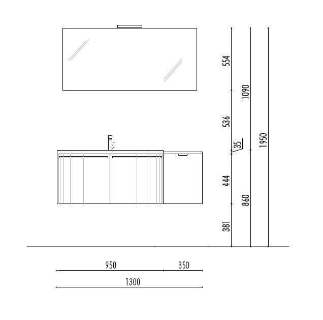 arredo bagno dimensioni | bagno | pinterest | bagno, bagni e interni - Arredo Bagno Misure