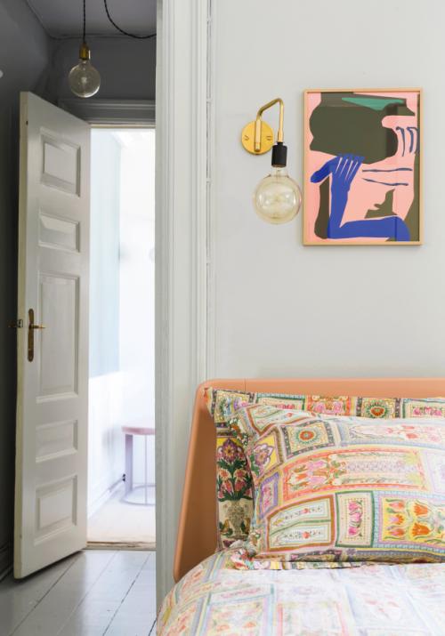 Colourful home in Copenhagen
