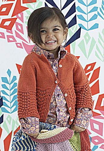 Feather and Fan Baby Sweater pattern Free pattern Go to; pinterest ...